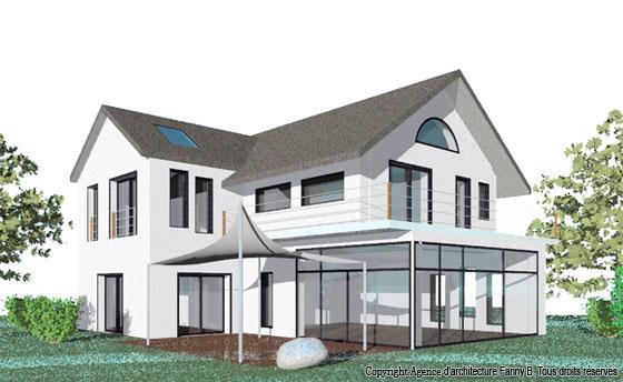 Agence d 39 architecture fanny b particuliers maisons individuelles mai - Consommation gaz maison individuelle ...